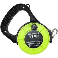 Scuba Wahl Tauchen Mehrzweck-Dive Spule 290FT W/STOP SCHALTER