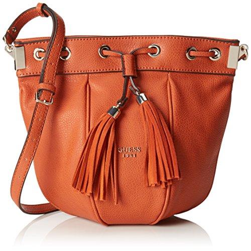 Guess HWVS6529290, Borsa a tracolla Donna, Arancione (Spice), 22x23x15,5 cm