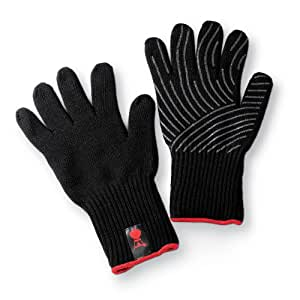 Weber large x large premium bbq gloves for Gardening gloves amazon