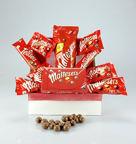Maltesers Gift Wrapped Hamper Box Personalised Message - Large Selection GREAT FOR ALL OCCASIONS Good Luck Birthdays Get Well Thank You Graduation Corporate