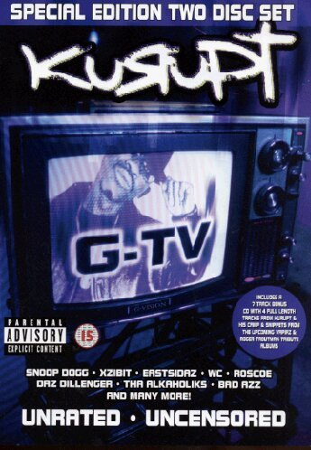 Kurupt - G-TV Unrated/Uncensored (+ Audio-CD)