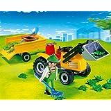 PLAYMOBIL 4486 - Jardinero con Tractor