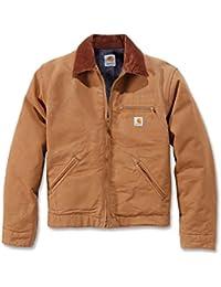 Carhartt Workwear Duck Detroit Veste pour homme, marron