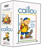 Caillou Vol.1~4 Box Set (Region code : All) (Korea Edition)
