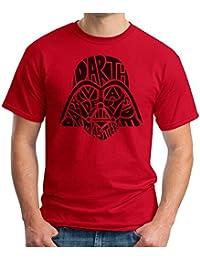 OM3 Vader-Skull - T-Shirt Darth SciFi Dark Side TODESSTERN Yoda Jedi Master Stormtrooper Force Geek, S - 5XL