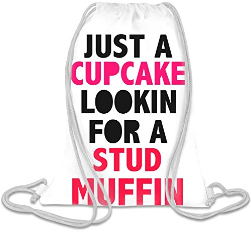 just-a-cupcake-for-a-stud-muffin-slogan-kordelzug-beutel