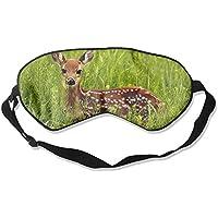 Cute Deer In The Jungle With Yellow Flowers 99% Eyeshade Blinders Sleeping Eye Patch Eye Mask Blindfold For Travel... preisvergleich bei billige-tabletten.eu