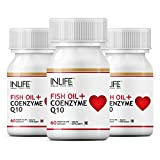 INLIFE Fish Oil Omega 3 With Coenzyme Q1...