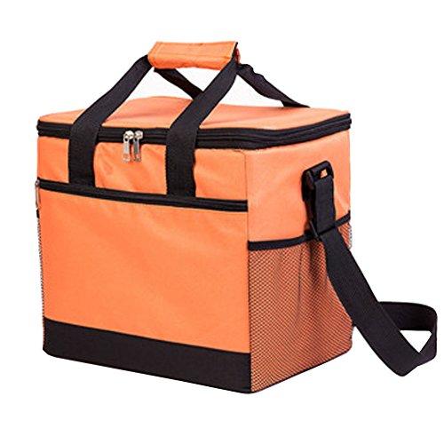 PANDA SUPERSTORE Picknick-Tasche im Freien 20L großer weicher kühler Isolierpicknick-Mittagessen-Tasche für den Lebensmittelgeschäft, kampierend, Auto, - Tasche Iglu Kühler Mittagessen