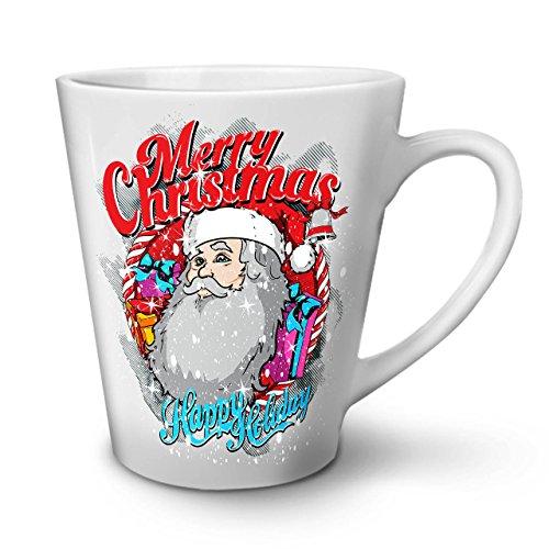Weihnachtsmann Urlaub Weihnachten WeißTee KaffeKeramik Kaffeebecher 12 | (Ideen Kostüme Halloween Wirklich Gruselige)