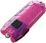 Nitecore Tube pink - Schlüsselanhängerleuchte, 45 Lumen, über USB aufladbar