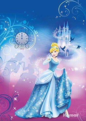 Fototapete Kindertapete CINDERELLA'S NIGHT 184x254 cm Aschenputtel Mädchentapete, Disney