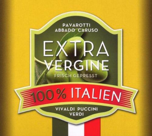 Preisvergleich Produktbild 100% Italien Extra Vergine - Musik und Rezepte