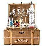 Cofre Gin Tonic Premium - SANTAMANIA Craft Gin