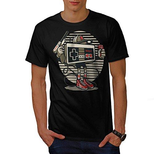 nintendo-retro-jeu-jeunesse-la-homme-nouveau-noir-xl-t-shirt-wellcoda