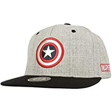 WITHMOONS Gorras de béisbol Gorra de Trucker Sombrero de Marvel Baseball  Cap Captain America Shield Snapback 47a7d51c59c