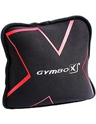 Gymbox® Bolsa de Arena / Sand Pad / Saco de Peso / Fitness Bag / Power Bag   entrenamiento muscular / funcional / de pesas libres   puede estar llenado con arena   negro, 2 kg   vacío