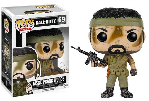 POP! Vinilo - Games: Call of Duty: MSgt. Frank Woods