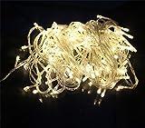 Happyit 4 M 40 LED wasserdichte String Lights Xmas Urlaub Licht Outdoor dekoriert Lampen für Party Hochzeit Garten Weihnachten Fairy (Warmes Weiß)