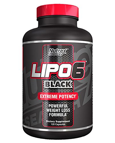 Nutrex - LIPO - 6 Black - 120 capsule - 51z2Xl%2BrLSL
