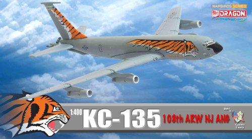 """Dragon Models 1/400 KC-135 108th ARW NJ ANG """"Tiger Meet"""""""