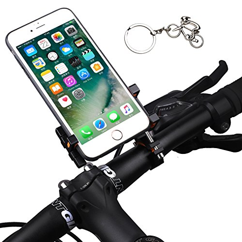 Fahrrad-Handyhalterung für iPhone X 8 7 6 Plus 5 5S, Samsung Galaxy Note Huwei LG GPS und jedes Smartphone mit 8,9 - 15,2 cm Bildschirm – Universal Mountain & Road Bike & City Cycle Lenkerhalterung