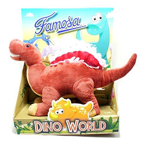 Dinosaurio Famosa Dino World Juguete suave jurásico peluche 42 cm