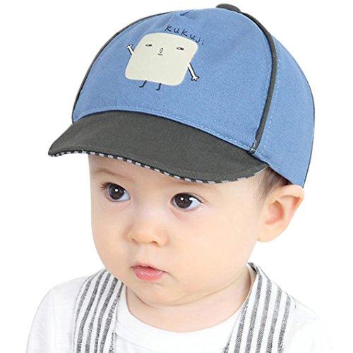 c6cf494173362 Covermason Chapeau Bébé Garçons Visière de Casquette de Baseball Chapeau  imprimée Pour Enfant Garçons 1-