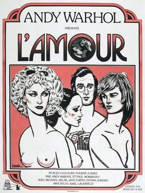 Andy Warhol Revolution (L'Armour - Andy Warhol - French Movie Wall Poster Print - 43cm x 61cm / 17 Inches x 24 Inches A2)