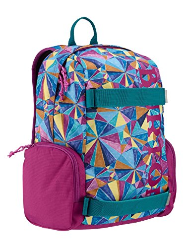 Burton YTH emphasis infantil Mochila, color polka diamond print, tamaño 40 x 29 x 16.5 cm, volumen liters 18.0