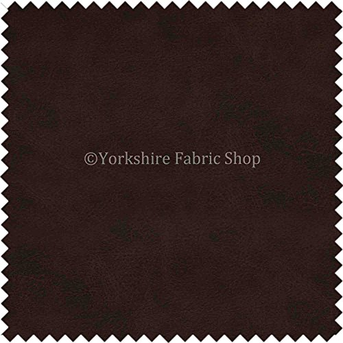 aged-distressed-faux-nubuck-leather-fabric-soft-semi-sueded-suede-in-dark-oak-brown-finish-use-cars-