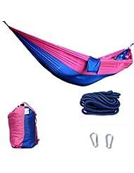Doble Personas Ultraligero Outdoor Hamaca Camping Viajes Hamaca 140 * 260 CM-A551