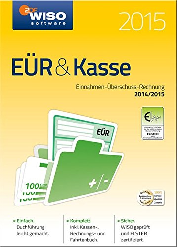 WISO EÜR & Kasse 2015 Kasse Software