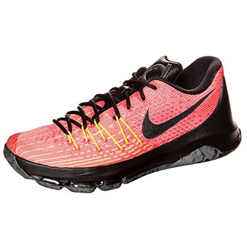 Nike KD 8, Scarpe da Basket Uomo, Talla total orange black volt bright crimson 807