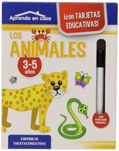 Aprendo en casa con tarjetas educativas: los animales por S.A. Ediciones Saldaña