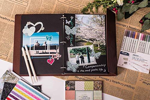 Veesun Album Fotografico Con Confezione Regalo Pagine Nere