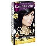 Eugène Color -Color & Eclat - N°15 Noir  Intense, Colorante Permanente - Lot de 2