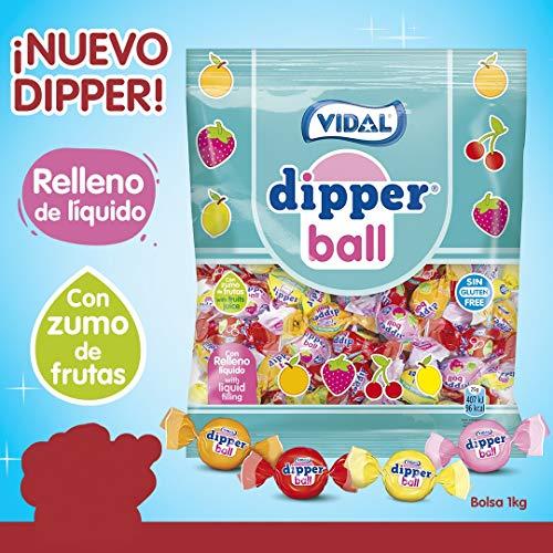 51f72e6ebdf1 Dipper Ball Vidal Candy with Liquid Filling (Orange, Strawberry, Cherry and  Lemon)
