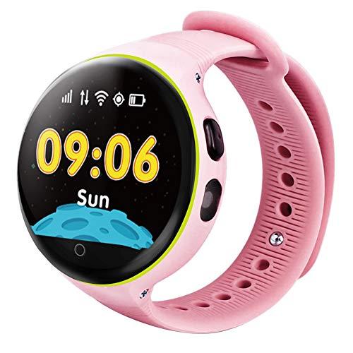 LJSHU Reloj Inteligente de los niños de Pantalla táctil de posicionamiento GPS...