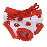 Generic Pet Puppy Dog Clothes Female Physiological Menstrual Diaper Pants - L