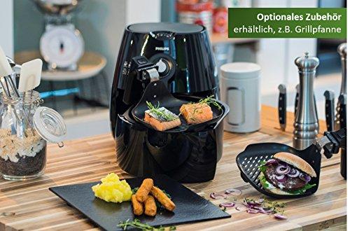 Philips Airfryer HD9220/20 Heißluftfritteuse (ohne Öl, das Original für 1-2 Personen) schwarz - 6