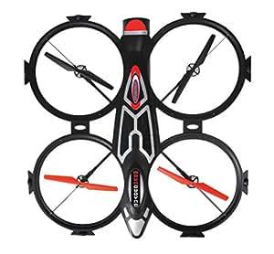 jamara 038585 quadrocopter schwarz spielzeug. Black Bedroom Furniture Sets. Home Design Ideas