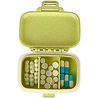 GJ@ + Pillbox Tragbar Medizin Kleine Aufbewahrungsbox Flexible Trennung Feuchtigkeitsdichten Versiegelten Mini-Medizin-Box... preisvergleich bei billige-tabletten.eu