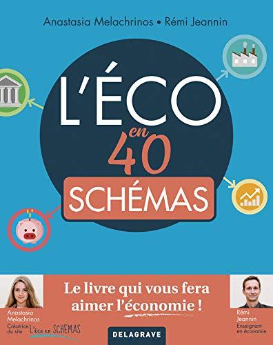 L'éco en 40 schémas (l'économie en 40 schémas) par Anastasia Melachrinos, Rémi Jeannin