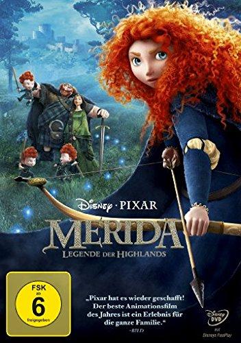 Merida - Legende der Highlands (Prinzessin Dvd Disney)