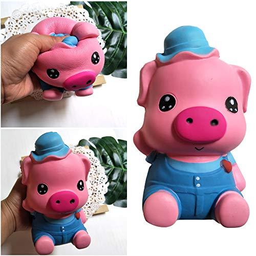 Gaddrt Pädagogische Puppen Karikatur-Schwein-pädagogische Spielwaren langsame steigende Kinder spielt Stressabbau-Spielzeug-Hop-Requisiten - Nerf Hubschrauber