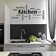 Stencil Per Cucina Moderna.Amazon It Stencil Per Pareti Cucina Wall Smart Designs