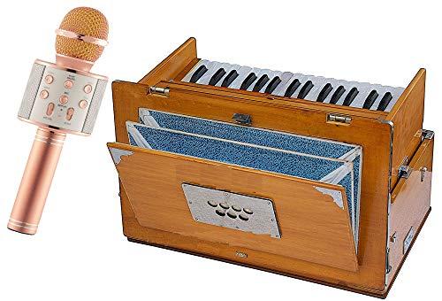 Makan Special Reeds, Natural Color, Bag, Book, 2.5 Octave Hand Pumped Harmonium