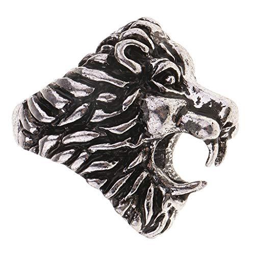 sharprepublic Neuheit Lion Style Lady Rauchen Rack Tabak ACCS - Silber L