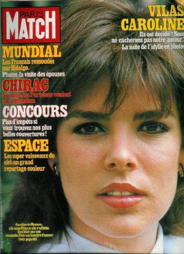 Paris Match - n°1729 - 16/07/1982 - Caroline de Monaco & Guillermo Vilas par Collectif
